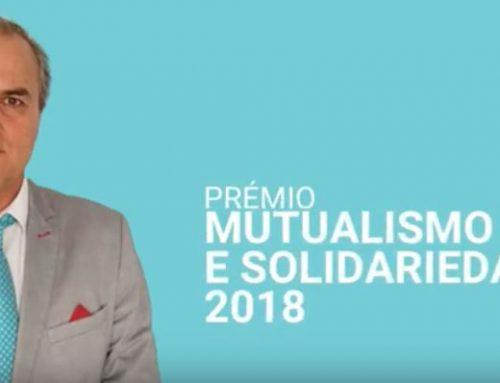 Fernando Paulino recebe Prémio Mutualismo e Solidariedade 2018
